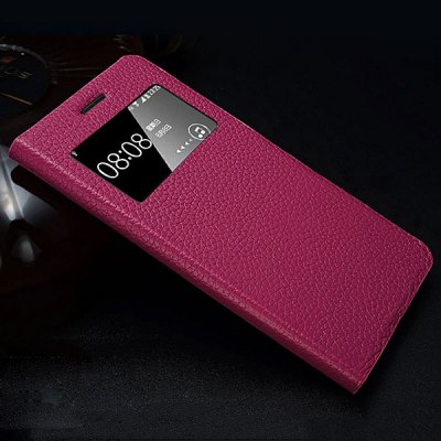 Гаджет   Moby Flip Genuine Leather Lichee Pattern Phone Case with View Window for Samsung G7106 G7108 G7109 Grand 2 Samsung Cases/Covers