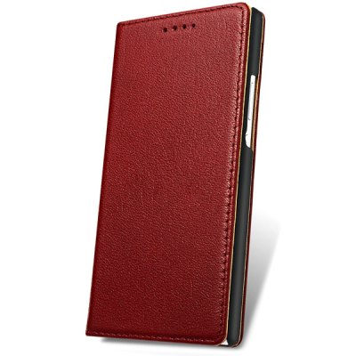 Moby Exquisite Genuine Leather and TPU Material Cover Case for Huawei Honor 6