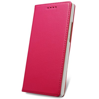 Фотография Moby Exquisite Genuine Leather and TPU Material Cover Case for Huawei Honor 6