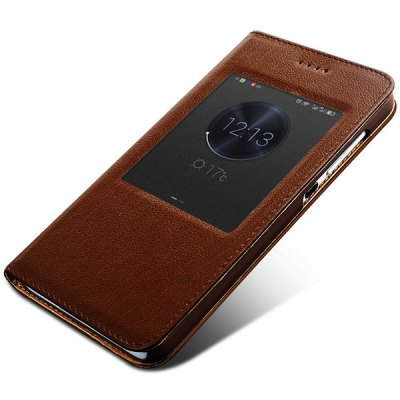 Фотография Moby Exquisite Genuine Leather PC and TPU Material Cover Case for Huawei Honor 4X