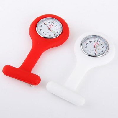 Rubber Body Quartz Movement Nurse Fob Pocket WatchWomens Watches<br>Rubber Body Quartz Movement Nurse Fob Pocket Watch<br><br>Watches categories: Female table<br>Available color: Blue,Red,White,Yellow<br>Style: Fashion&amp;Casual<br>Movement type: Quartz watch<br>Shape of the dial: Round<br>Display type: Analog<br>Case material: Rubber<br>Band material: Rubber<br>Clasp type: Buckle<br>The dial thickness: 1.0 cm / 0.39 inches<br>The dial diameter: 4.2 cm / 0.65 inches<br>Product weight: 0.020 kg<br>Package weight: 0.070 kg<br>Product size (L x W x H): 8.50 x 4.20 x 1.00 cm / 3.35 x 1.65 x 0.39 inches<br>Package size (L x W x H): 9.50 x 5.20 x 2.00 cm / 3.74 x 2.05 x 0.79 inches<br>Package Contents: 1 x Watch