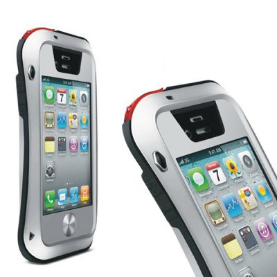 Гаджет   LOVE MEI Shockproof Waterproof Case Phone Cover for iPhone 4S / 4 iPhone Cases/Covers