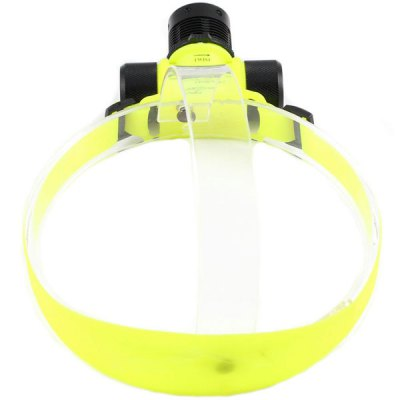 Kinfire KF - QS - TB Cree XPE R3 Diving LED Headlight ( 400Lm 3 Modes 3 x AAA Battery )