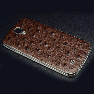 ФОТО Moby Cute Genuine Leather Protective Back Case with Fake Ostrich Pattern for Samsung Galaxy S4 i9500