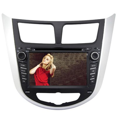 Rungrace RL - 499WGAR02 7 inch ISDB - T In - Dash Car DVD Player for Hyundai VernaCar DVD Player<br>Rungrace RL - 499WGAR02 7 inch ISDB - T In - Dash Car DVD Player for Hyundai Verna<br><br>Brand: Rungrace<br>Type  : 2-DIN<br>Installation Site : In-Dash<br>Special Function  : GPS<br>Screen Type: Digital touch screen<br>Screen Size : 7inch<br>Screen Resolution : 800 x 480<br>RAM (memory): DDR2 256M<br>DVD Video Format: MP4, AVI<br>USB/SD Video Format: MP4, AVI<br>DVD Audio Format: WMA, MP3<br>Picture Format: JPEG<br>Media Format : DVD-R/RW, CD<br>OSD Language: Spanish, Chinese, Hebrew, Turkish, English, Italian, French, Arabic, German, Portuguese, Russian, Japanse<br>Product weight   : 3.200 kg<br>Package weight   : 4.05 kg<br>Product size (L x W x H)  : 24 x 26.5 x 10 cm / 9.43 x 10.41 x 3.93 inches<br>Package size (L x W x H)  : 46 x 26 x 33 cm / 18.08 x 10.22 x 12.97 inches<br>Package Contents: 1 x Host, 1 x Power Cable, 1 x GPS Antenna, 1 x Remote Control