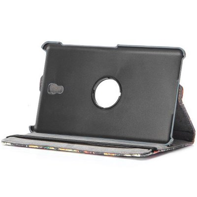 Фотография PC PU Leather 360 Degrees Rotation Case with Elastic Belt Stand Function for Samsung Galaxy Tab S 8.4 T700 T705