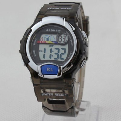 Pasnew PES-170 Outdoor Sports LED Watch Kids Digital Wristwatch