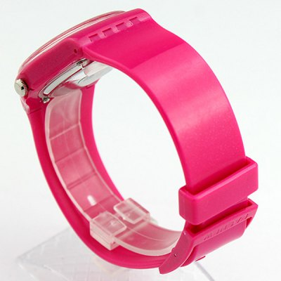 Pasnew PSE - 401 Unisex Quartz Watch Water Resistant Date Day Display Acrylic MirrorUnisex Watches<br>Pasnew PSE - 401 Unisex Quartz Watch Water Resistant Date Day Display Acrylic Mirror<br><br>People: Unisex table<br>Watch style: Fashion<br>Available color: Black, Pink, Red, Blue<br>Shape of the dial: Round<br>Movement type: Quartz watch<br>Display type: Analog<br>Case material: PVC Plastic<br>Band material: Rubber<br>Clasp type: Pin buckle<br>Water Resistance: 30 meters<br>Special features: Date, Date<br>The dial thickness: 0.7 cm / 0.28 inches<br>The dial diameter: 4.0 cm / 1.57 inches<br>Product weight: 0.050 kg<br>Package weight: 0.1 kg<br>Product size (L x W x H) : 22 x 4 x 0.7 cm / 8.65 x 1.57 x 0.28 inches<br>Package size (L x W x H): 23 x 5 x 1.7 cm / 9.04 x 1.97 x 0.67 inches<br>Package contents: 1 x Watch