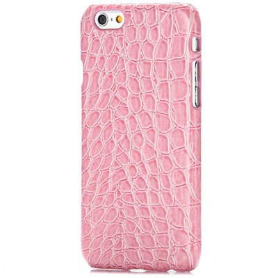 Back Cover Case with Crocodile Texture Design for iPhone 6  -  4.7 inchesiPhone Cases/Covers<br>Back Cover Case with Crocodile Texture Design for iPhone 6  -  4.7 inches<br><br>Compatible for Apple: iPhone 6<br>Features: Back Cover<br>Material: PU Leather<br>Style: Solid Color, Novelty<br>Color: White, Pink, Brown, Black<br>Product weight : 0.025 kg<br>Package weight : 0.07 kg<br>Product size (L x W x H): 13 x 6.5 x 1 cm / 5.11 x 2.55 x 0.39 inches<br>Package size (L x W x H) : 14 x 8 x 2 cm / 5.50 x 3.14 x 0.79 inches<br>Package contents: 1 x Back Cover Case