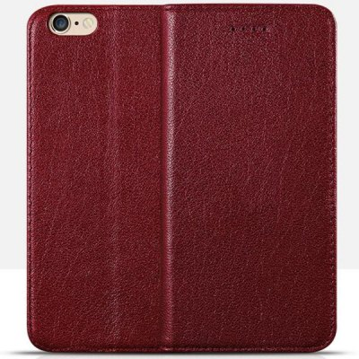 Moby Ultra - thin Anti - dust TPU + Leather Stand Function Full Body Case for iPhone 6  -  4.7 inch