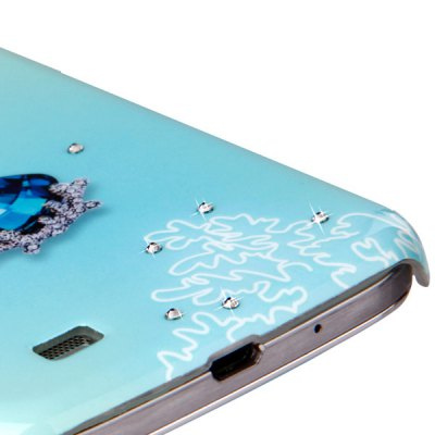 ФОТО Joroom Flower Pattern Fluorescent PC Material Back Case for Samsung Galaxy S4 i9500 i9505