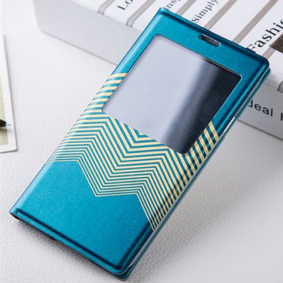 ФОТО Joyroom View Window Design PU and PC Material Sliding Answer Cover Case for Samsung Galaxy S5 i9600 SM - G900