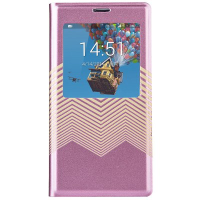 ФОТО Joyroom View Window Design PU and PC Material Sliding Answer Cover Case for Samsung Galaxy Note 3 N9000