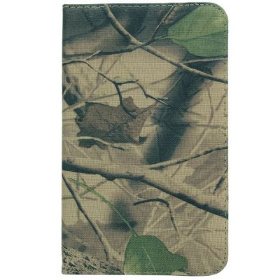 Camouflage Style 360 Degrees Rotatable Stand Cover Case for Galaxy Tab 3 Lite T110 / T111