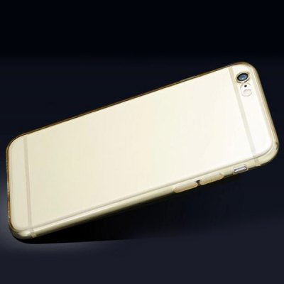 Anti - dust Transparent TPU Moby Back Cover Case for iPhone 6  -  4.7 inch