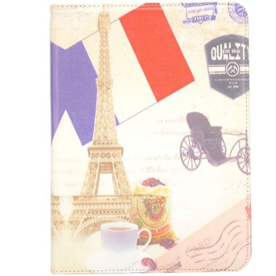 Гаджет   Flag Style 360 Degrees Rotatable Stand Cover Case for 10.1inch Sansung Galaxy Tab 4 T530 Tablet PCs