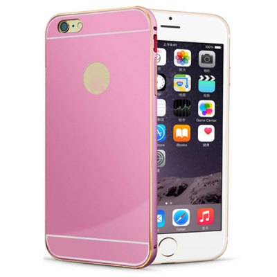 Гаджет   Anti - dust Gold Aviation Aluminium Acrylic Moby Back Cover Case for iPhone 6 Plus  -  5.5 inch iPhone Cases/Covers