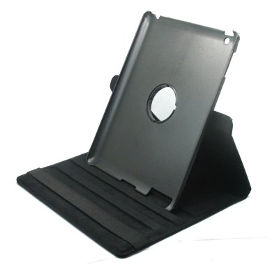 Practical 360 Degree Rotatable PU Leather Cover with Holder Function for iPad 2 / 3 / 4