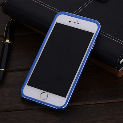 Фотография FINEDAY 4.7 inch Tempered Glass Back Case with Metal Bumper Frame Phone Cover Case for iPhone 6