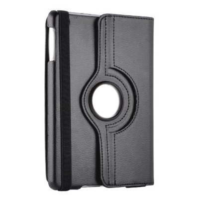 ФОТО 360 Rotating Stand PU Leather Protective Cover + Stylus + Guard Film Set for iPad 2 / 3 / 4
