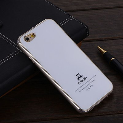 Гаджет   FINEDAY 5.5 inch Tempered Glass Back Case with Metal Bumper Frame Phone Cover Case for iPhone 6 Plus iPhone Cases/Covers