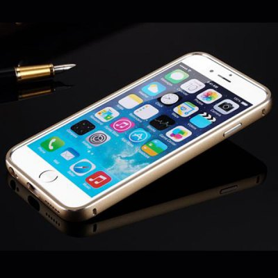 Anti - dust Aviation Silver Aluminium Acrylic Moby Back Cover Case for iPhone 6  -  4.7 inch