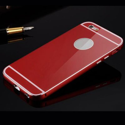 Фотография Anti - dust Aviation Silver Aluminium Acrylic Moby Back Cover Case for iPhone 6  -  4.7 inch