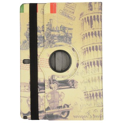 Фотография British Style 360 Degree Rotate PC + Leather Case for Samsung Galaxy Note Pro 12.2 P900 P905