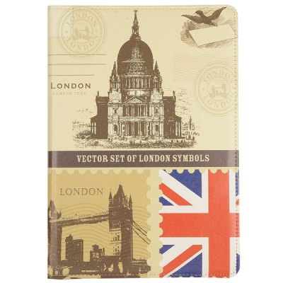 British Style 360 Degree Rotate PC + Leather Case for Samsung Galaxy Note Pro 12.2 P900 P905