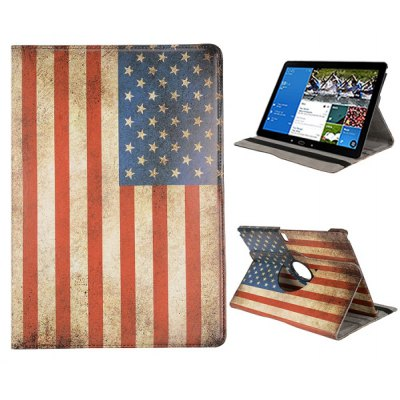 360 Degrees Rotating Stand Leather Cover Case with Elastic Belt for Samsung Galaxy Note Pro 12.2 P900 P905