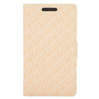 Maze Texture Full Body PU Leather Case with Credit Card Slot Stand for Huawei Ascend Y530