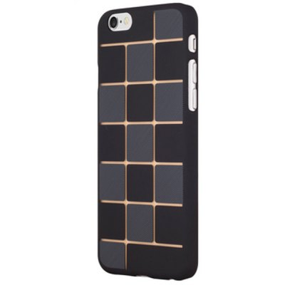 Гаджет   Grid Pattern Frosted Phone Cover Plastic Case Protector for iPhone 6 Plus  -  5.5 inch iPhone Cases/Covers