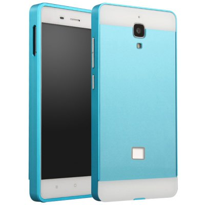 Fabitoo Aluminium Alloy Bumper Frame with PC Back Case for Xiaomi 4