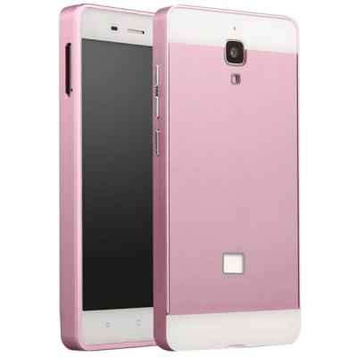 ФОТО Fabitoo Frame Style Aluminium Alloy Bumper with PC Back Case for Xiaomi 4