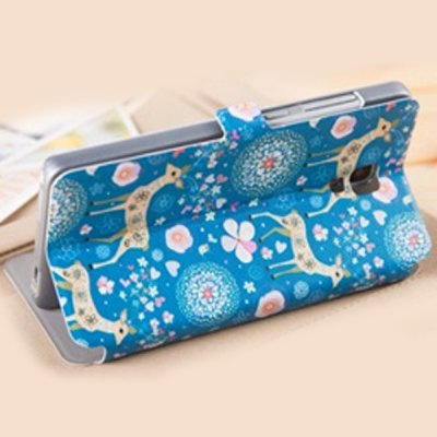 Гаджет   Fabitoo Polka Dot Elephant Pattern PU and PC Material Cover Case for Xiaomi 4 Other Cases/Covers