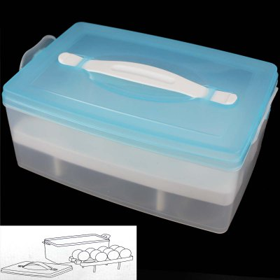 Double Layer Eggs Storage Box
