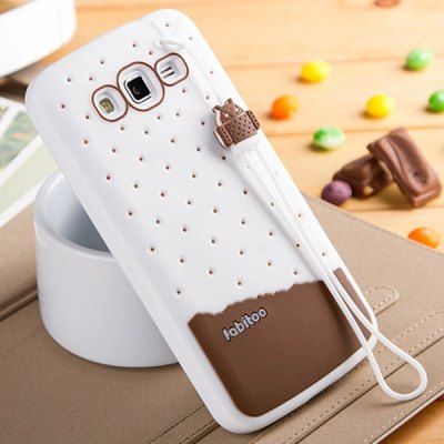 Гаджет   Fabitoo Lanyard Design Silicone Back Cover Case for Samsung Galaxy Grand 2 G7106 Samsung Cases/Covers