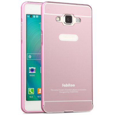 ФОТО Fabitoo Frame Style Aluminium Alloy Bumper with PC Back Case for Samsung Galaxy A5 A5000