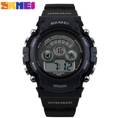 Гаджет   Skmei 1079 LED Digital Military Watch Water Resistant Alarm Day Date Stopwatch for Sports