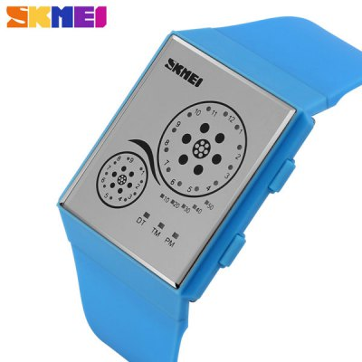 Skmei 1073 LED Digital Watch Water Resistant Date Display for Sports