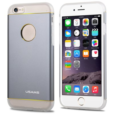 ФОТО USAMS Aluminium and TPU Material Back Case Cover for iPhone 6  -  4.7 inches