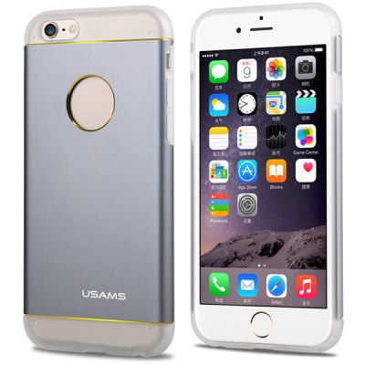 ФОТО USAMS Aluminium and TPU Material Back Case Cover for iPhone 6 Plus  -  5.5 inches