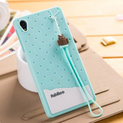 Fabitoo Silicone Back Cover Case for Sony Xperia Z3 L55T