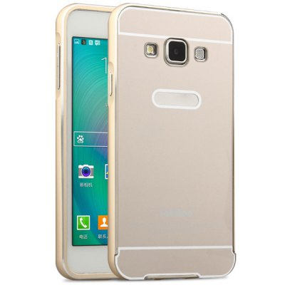 ФОТО Fabitoo Frame Style Aluminium Alloy Bumper with PC Back Case for Samsung Galaxy A3 A3000