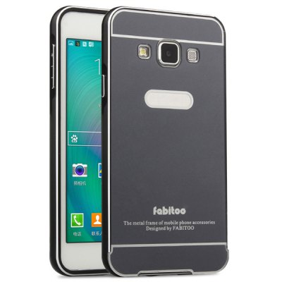 Гаджет   Fabitoo Frame Style Aluminium Alloy Bumper with PC Back Case for Samsung Galaxy A3 A3000 Samsung Cases/Covers