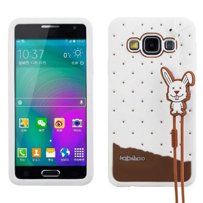 Fabitoo Silicone Back Cover Case for Samsung Galaxy A3 A3000