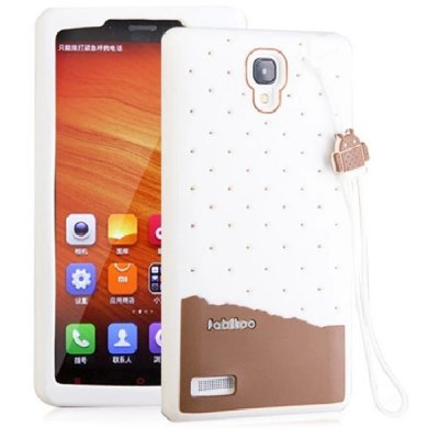 Fabitoo Lanyard Design Silicone Back Cover Case for Redmi NoteCases &amp; Leather<br>Fabitoo Lanyard Design Silicone Back Cover Case for Redmi Note<br><br>Compatible models: Redmi Note<br>Features: Back Cover<br>Material: Silicone<br>Style: Novelty, Contrast Color<br>Color: Chocolate, White, Pink, Blue, Green, Rose<br>Product weight: 0.040 kg<br>Package weight: 0.090 kg<br>Product size (L x W x H) : 15.8 x 8.2 x 1.3 cm / 6.21 x 3.22 x 0.51 inches<br>Package size (L x W x H): 22 x 11 x 2 cm / 8.65 x 4.32 x 0.79 inches<br>Package Contents: 1 x Case
