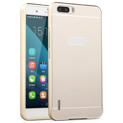 Fabitoo Aluminium Alloy Bumper Frame with PC Back Case for Huawei Honor 6 Plus