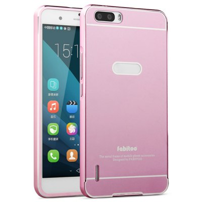 Гаджет   Fabitoo Frame Style Aluminium Alloy Bumper with PC Back Case for Huawei Honor 6 Plus Other Cases/Covers