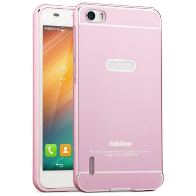 Гаджет   Fabitoo Frame Style Aluminium Alloy Bumper with PC Back Case for Huawei Honor 6 Other Cases/Covers